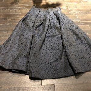 Navy H&M skirt size 4